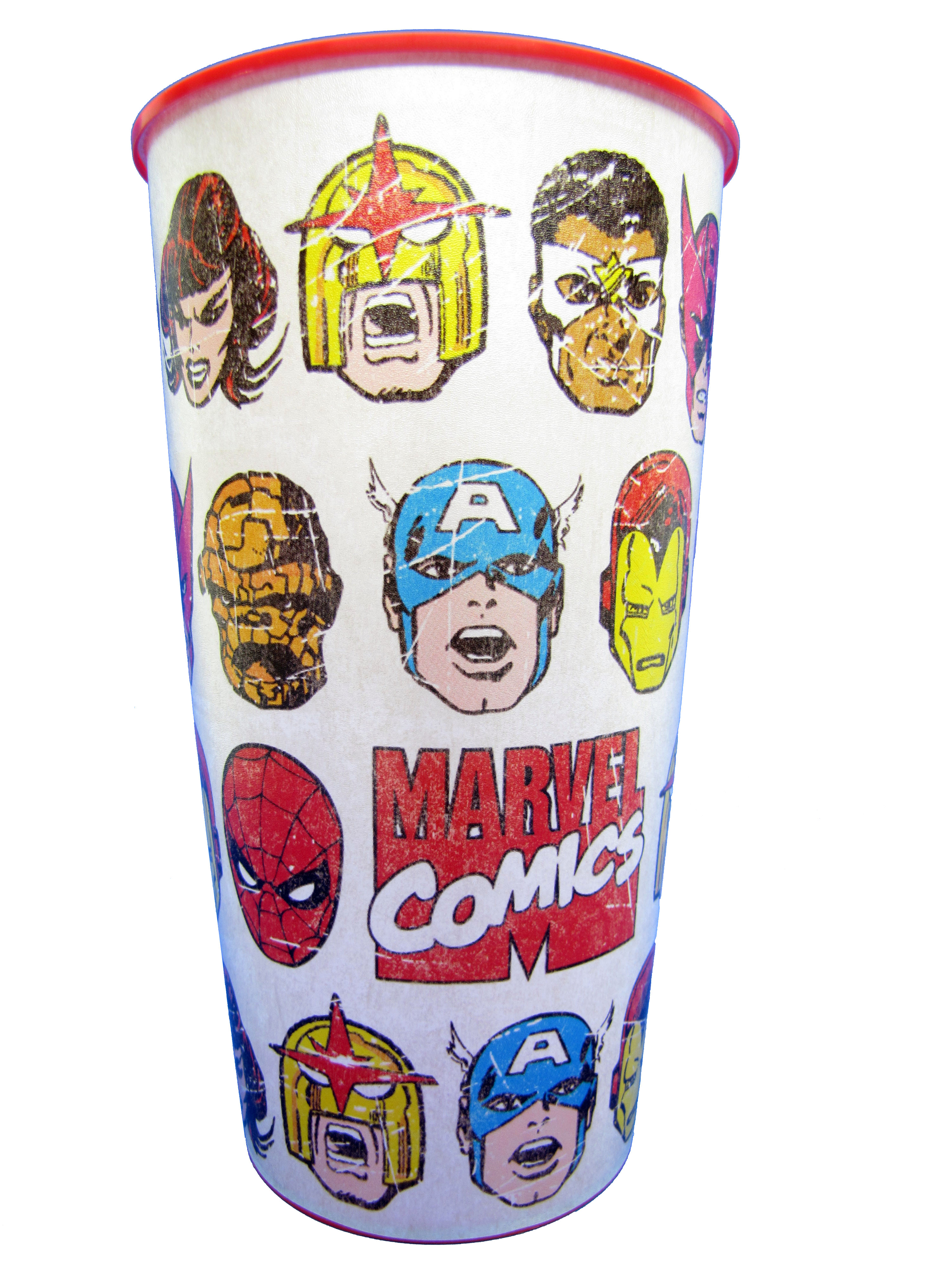 Retro Marvel Comics Party Cup